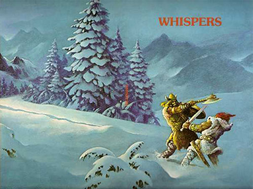 Whispers Magazine - Fritz Leiber Issue