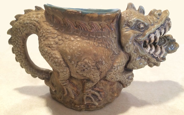 Alligator Wrestler Tankard
